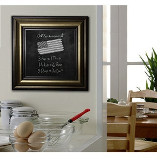 American Made Rayne Stepped Antiqued Blackboard/Chalkboard (More options available)