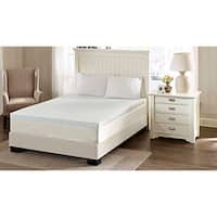 Flexapedic by Sleep Philosophy 3-inch Memory Foam Stain Resistant and Non-skid Backing Mattress Topper