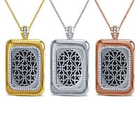 Divina CUFF Gold Overlay Smart Jewelry Pendant Necklace