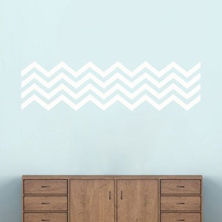 Chevron Stripes' 50 x 14-inch Wall Decals
