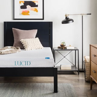 LUCID 6-inch Twin XL-size Gel Memory Foam Mattress