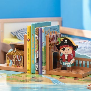 Teamson Fantasy Fields Pirates Island Bookends Set