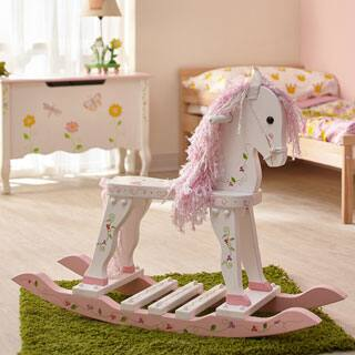 Teamson Fantasy Fields Princess and Frog Rocking Horse|https://ak1.ostkcdn.com/images/products/P17810496jt.jpg?impolicy=medium
