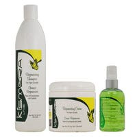 Kismera Hair Growth Regenerating Shampoo, 16-ounce Cream, and 4-ounce Lotion Set