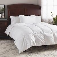 St. James Home All Season Cotton Dobby White Goose Down Comforter