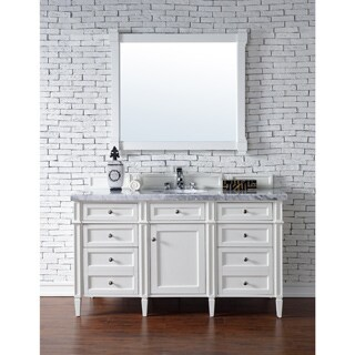 Brittany 60 Inch Single Cabinet, Cottage White