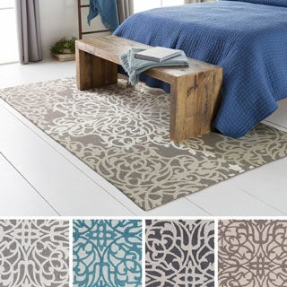 Hand-Tufted Aegis Wool Rug (8' x 10')