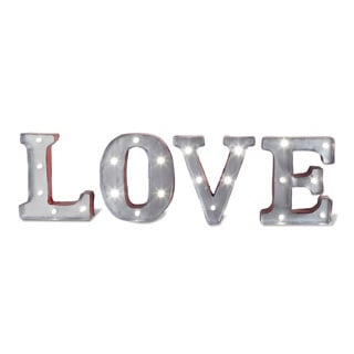 apothecary company 45in metal led marquee love sign