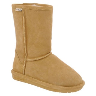 Bearpaw Emma-608w Women's Classic Slip On Short Warm Snow Booties