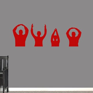 OHIO People Wall Decal 48-inch x 16-inch