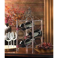 6-Bottle Circular Wine Rack