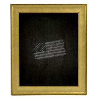 American Made Rayne Vintage Gold Blackboard/Chalkboard