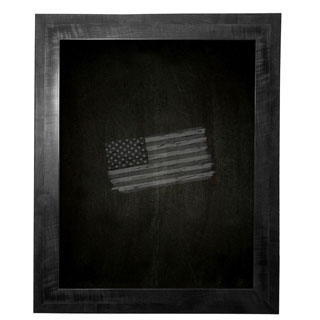 American Made Rayne Black Smoke Blackboard/Chalkboard (More options available)
