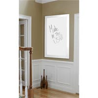 American Made Rayne  White Satin Wide Dry Erase Board