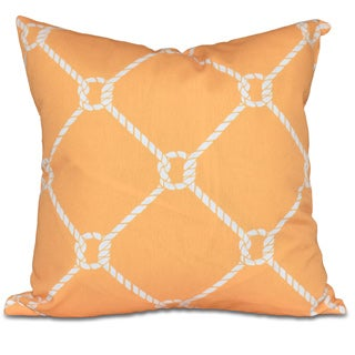 Ahoy! Geometric Print 20-inch Pillow