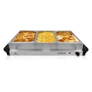 Shop Nutrichef Pkbfwm33 Food Warming Tray Buffet Server