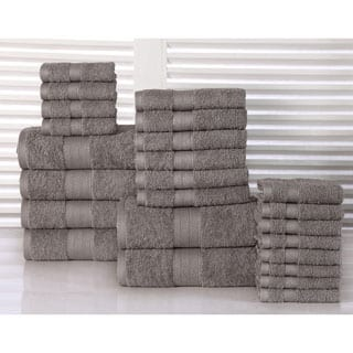 100-percent Plush Cotton 24-piece Economic Bath Towel Set|https://ak1.ostkcdn.com/images/products/P17857909m.jpg?impolicy=medium