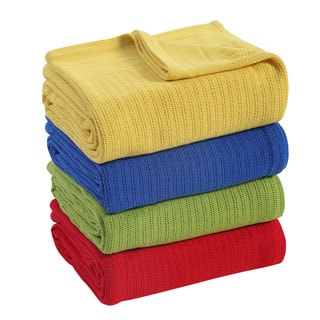 Fiesta Brand Cotton Thermal Blanket