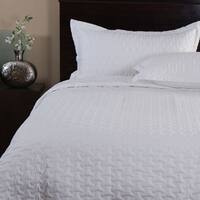 Cosmo White 3-piece Quilt Set