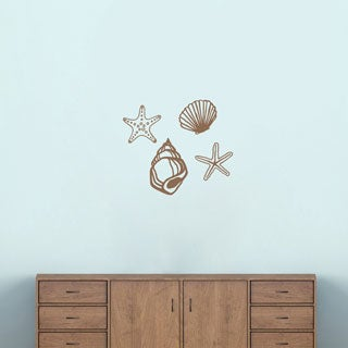 Small Set of Seashells Wall Decals