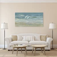 Dana McMillan 'Morning Break' Canvas Wall Art (24 x 48)