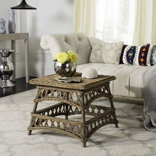 Safavieh Sora Natural Rattan Accent Table