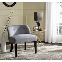Safavieh Bell Grey/ Taupe Cotton Blend Vanity Chair