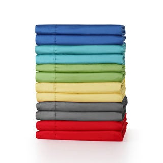 Fiesta 300 Thread Count Cotton Solid Color Sheet Sets