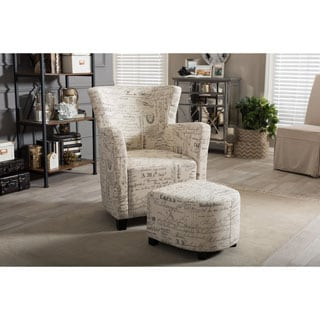 Chair Amp Ottoman Sets Living Room Chairs Overstock Com