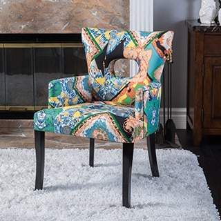 Christopher Knight Home Samuel Hermes Fabric Dining Chair