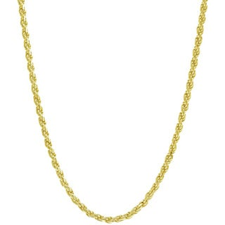 Pori 10k Gold Rope Chain Necklace