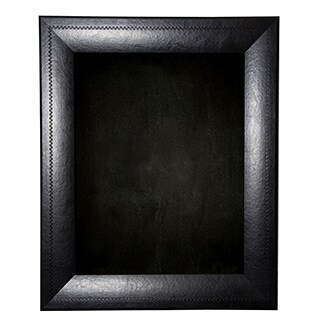 American Made Rayne Stitched Black Leather Blackboard/Chalkboard