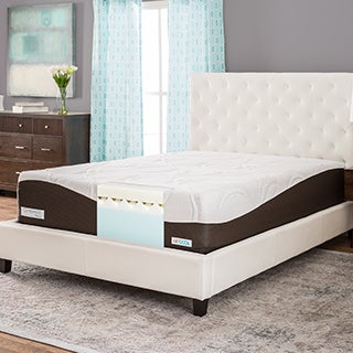 comforpedic from beautyrest 14inch fullsize memory foam mattress