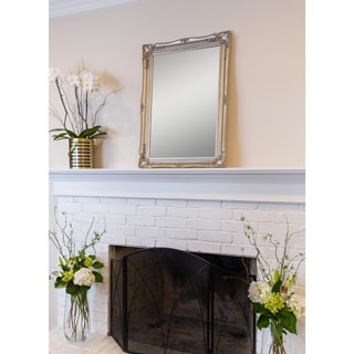 Selections by Chaumont Maissance Silver Traditional Mirror