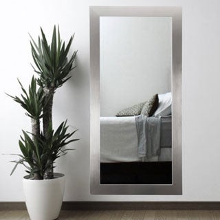 USA Silver 32 x 71-inch Floor Mirror