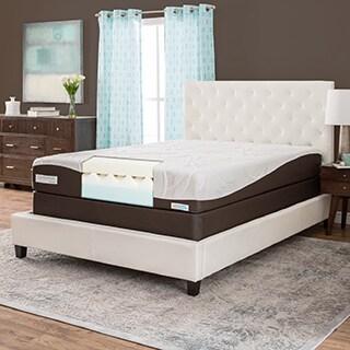 ComforPedic from Beautyrest 10-inch Queen-size Memory Foam Mattress Set