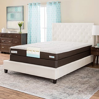 ComforPedic from Beautyrest 8-inch Full-size Memory Foam Mattress Set