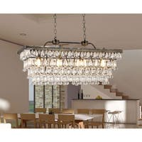 Jaden 4-light Crystal 30-inch Chandelier