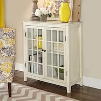 Linon Galway Cabinet - White