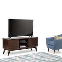 WYNDENHALL Tierney Mid-century Low TV Media Stand