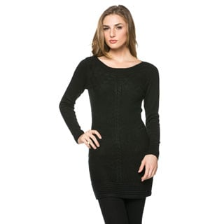 High Secret Women's Texture Knit Tunic Top