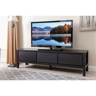 Abbyson Living Avion 70-inch Espresso Wood Entertainment Center