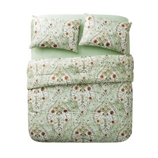 VCNY Evangeline Sage 8-piece Bed in a Bag with Sheet Set