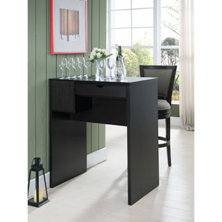 The Gray Barn Elsinora Cappuccino Standing Desk/Table