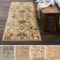 "Hand Tufted Staveley Wool Area Rug - 2'6"" x 8'"