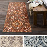 Hand Tufted Rochdale Wool Area Rug (2'6 x 8')