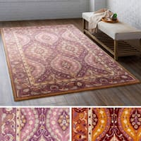 Hand Tufted Stone Wool Area Rug (8' x 10')