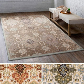 Hand Tufted Roanne Wool Area Rug (4' x 6') - Thumbnail 0