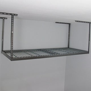 MonsterRax Stainless Steel 3-foot x 8-foot Overhead Garage Storage Rack (More options available)