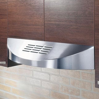KOBE CHX3830SQBD-3 Brillia 30-inch Under Cabinet Range Hood, with 3-speed, 400 CFM, LED Lights, and Baffle Filters